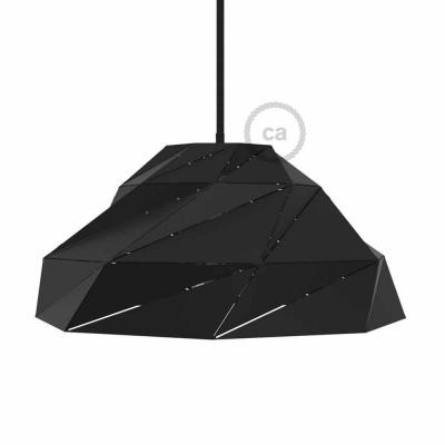 Pantalla Nuvola de metal negra opaca con socket E27