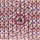 Cableado para lámpara de pie, cable RX00 Efecto Seda Pixel Fuchsia 3 m. Elige tu el color de la clavija y del interruptor!