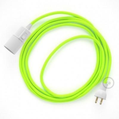Crea tu Snake Fluorescente Amarillo RF10 y trae la luz donde tu quieras.
