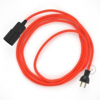 Crea tu Snake Fluorescente Naranja RF15 y trae la luz donde tu quieras.