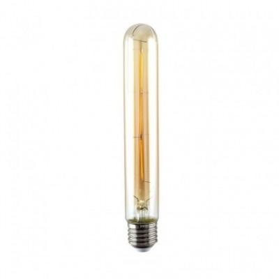 Bombilla dorada LED Tubular T30 de 135mm filamento sencillo 2W 2200ºK