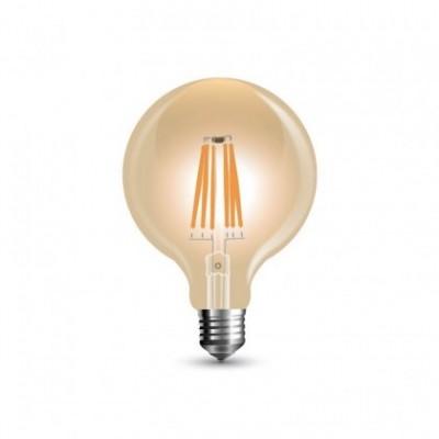 Bombilla dorada LED Globo Pequeño G80 de 4W decorativa vintage 2200ºK - LCO010