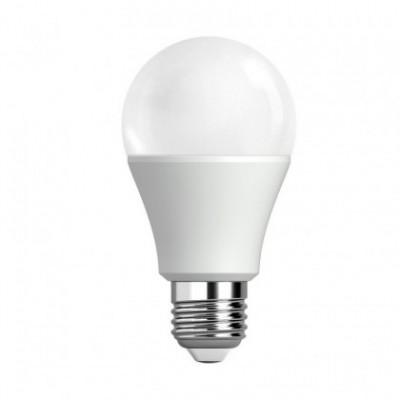 Bombilla blanca LED clásica A60 de 9W Luz cálida 3000ºK