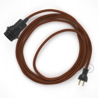 Crea tu Snake para pantalla con cable de Algodón Ciervo RC23, socket y enchufe, y trae la luz donde tu quieras.