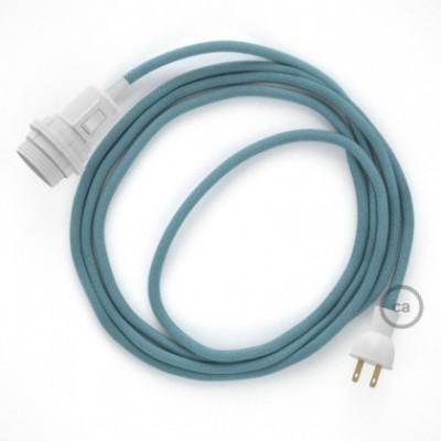 Crea tu Snake para pantalla con cable de Algodón Oceano RC53, socket y enchufe, y trae la luz donde tu quieras.