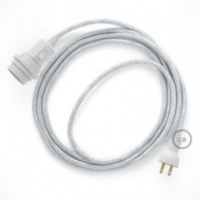 Crea tu Snake para pantalla con cable Brillante Blanco RL01, socket y enchufe, y trae la luz donde tu quieras.