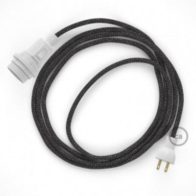 Crea tu Snake para pantalla con cable Brillante Gris RL03, socket y enchufe, y trae la luz donde tu quieras.