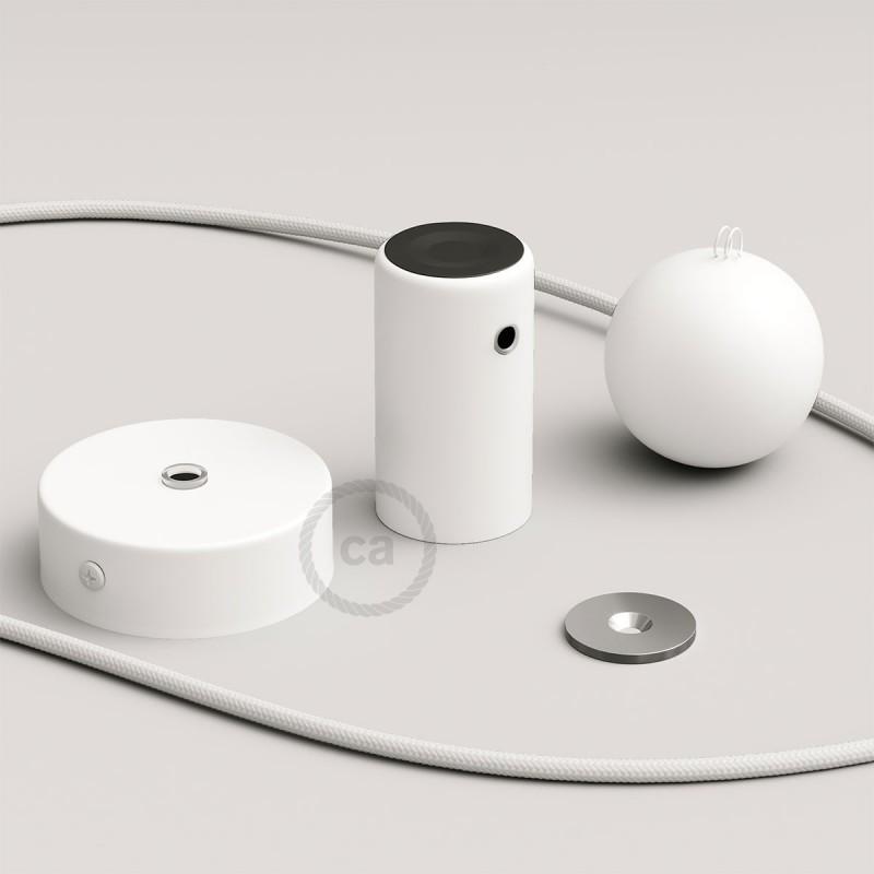 Magnetico®-Pendel Blanco, luminaria de suspensión con socket magnético orientable y portatil