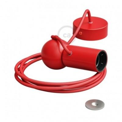 Magnetico®-Pendel Rojo, luminaria de suspensión con socket magnético orientable y portatil