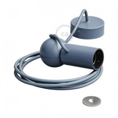 Magnetico®-Pendel Azul, luminaria de suspensión con socket magnético orientable y portatil