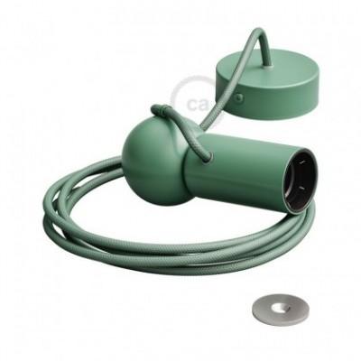 Magnetico®-Pendel Verde, luminaria de suspensión con socket magnético orientable y portatil