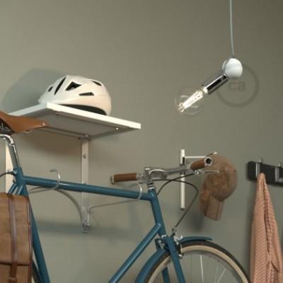 Magnetico®-Pendel Cromo, luminaria de suspensión con socket magnético orientable y portatil