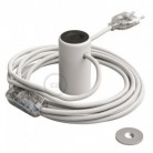 Magnetico®-Plug Blanco, socket magnético listo para usar