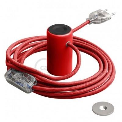 Magnetico®-Plug Rojo, socket magnético listo para usar