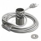 Magnetico®-Plug Cromo, socket magnético listo para usar