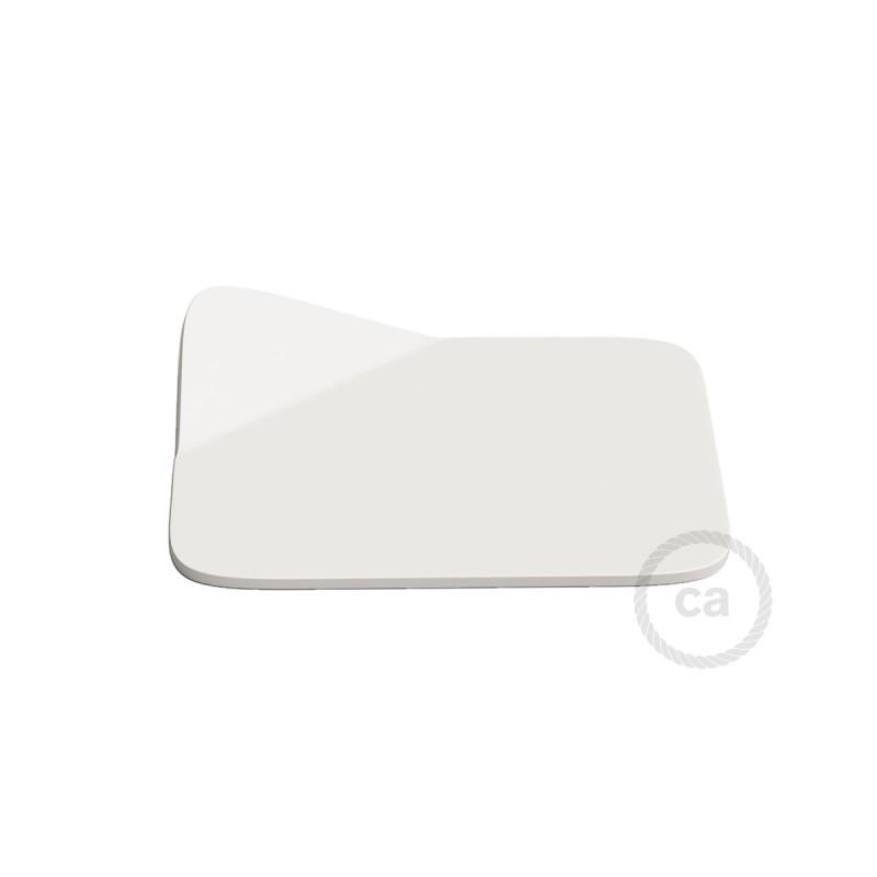 Magnetico®-Base Blanca, base metalica superficie plana para Magnetico®-Plug