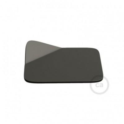 Magnetico®-Base Negra, base metalica superficie plana para Magnetico®-Plug
