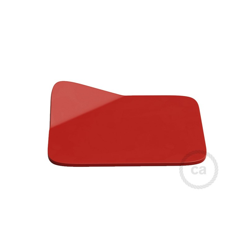 Magnetico®-Base Roja, base metalica superficie plana para Magnetico®-Plug