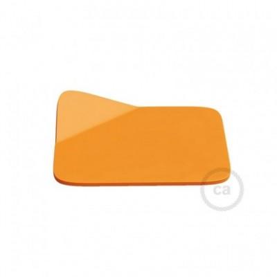 Magnetico®-Base Naranja, base metalica superficie plana para Magnetico®-Plug