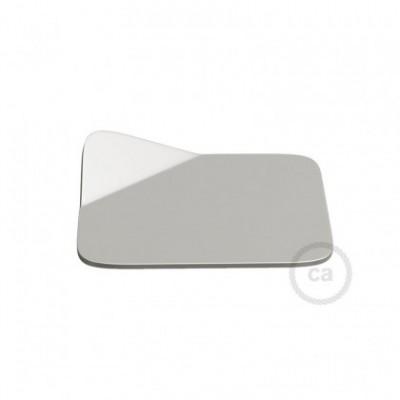 Magnetico®-Base Cromada, base metalica superficie plana para Magnetico®-Plug