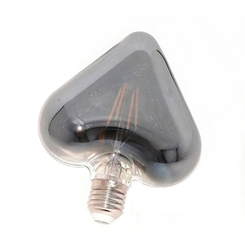 Bombilla LED Corazón Smokey 4W E27 Decorativa 2200K - LCO039