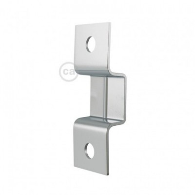 Accesorios o grapas de fijación de pared para cable de guirnalda - paquete de 10