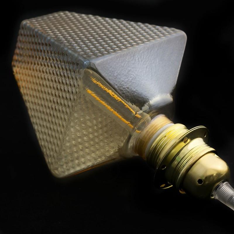 Bombilla Decorativa Modular LED G160 Farol Fumè de 5W de luz cálida - KS160158ZDFEC1