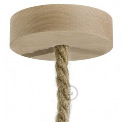 Kit de escudo de madera para cordón XL