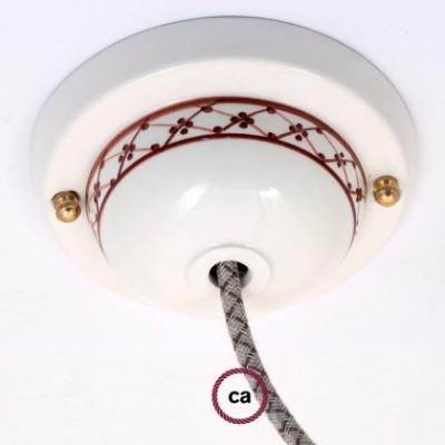 """Kit de escudo de cerámica Deco-82 """"Ivy"""""""