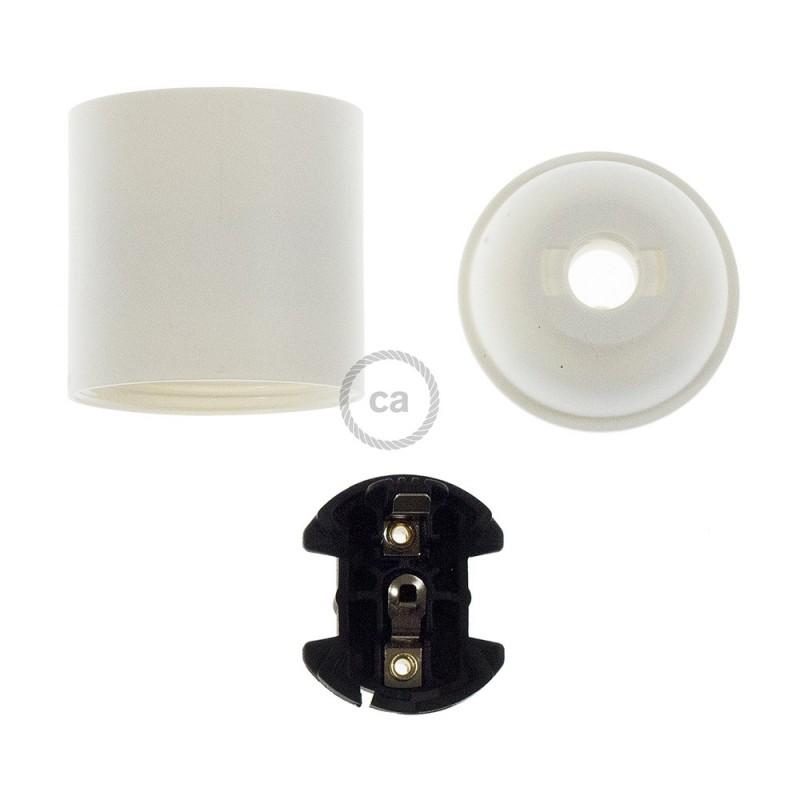 Kit portalámparas de termoplástico E27