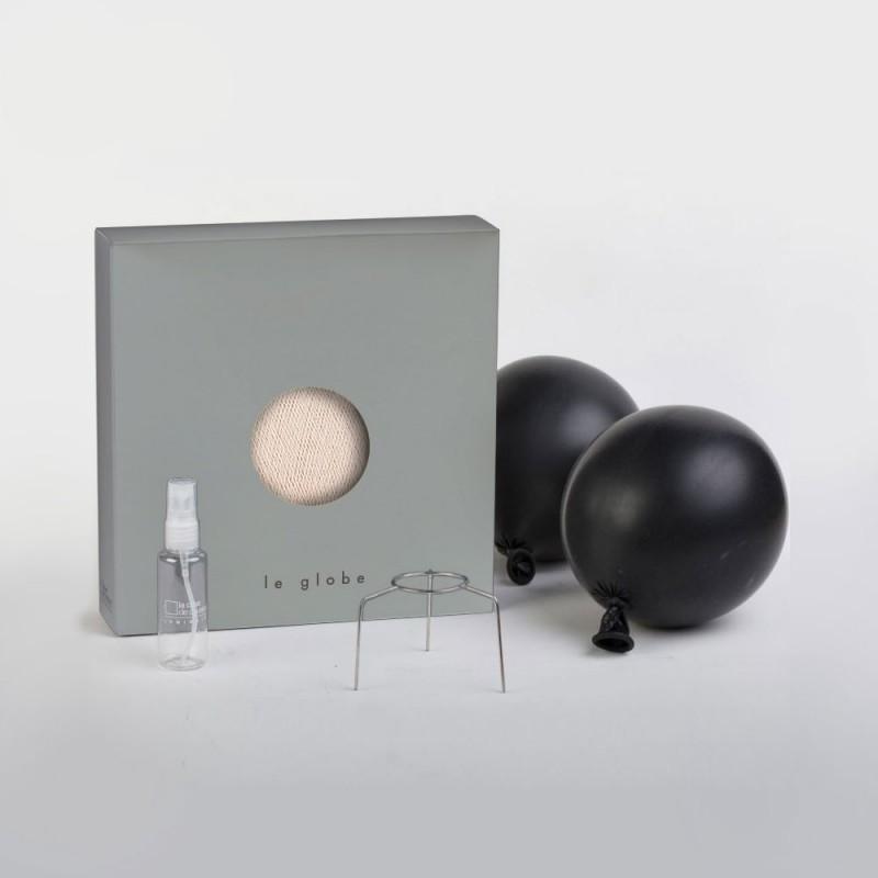 Pantalla Esfera M de hilo de poliéster, diámetro 35cm - 100% hecho a mano