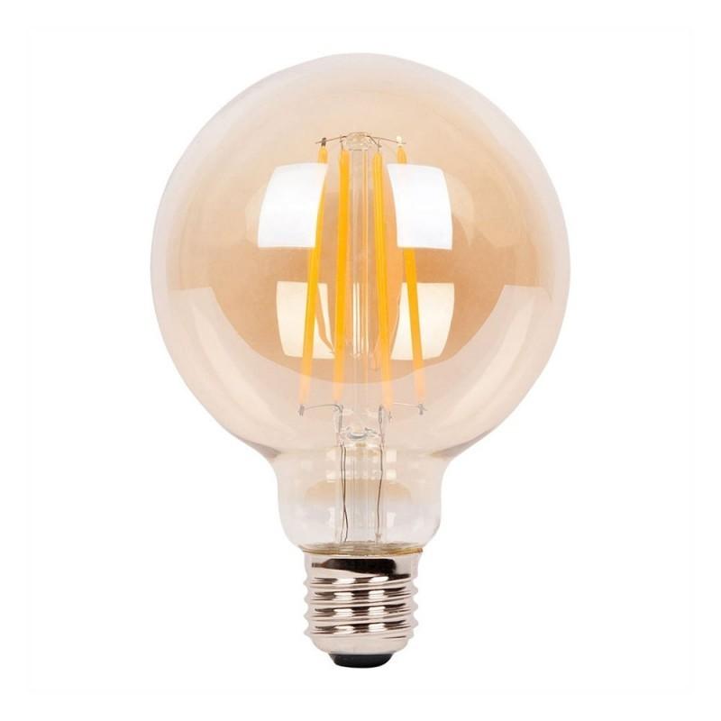 Bombilla dorada LED Globo Pequeño G80 de 4W decorativa vintage 2700ºK Dimerizable - LCO068