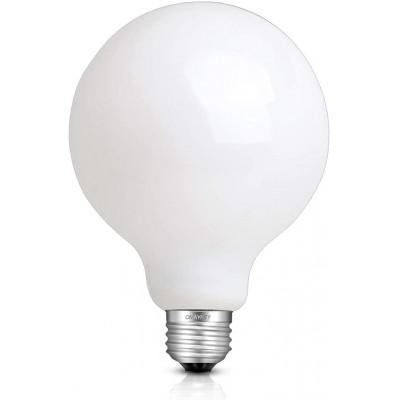 Bombilla LED Decorativa G95 Esmerilada de 12W - 2700K Luz cálida