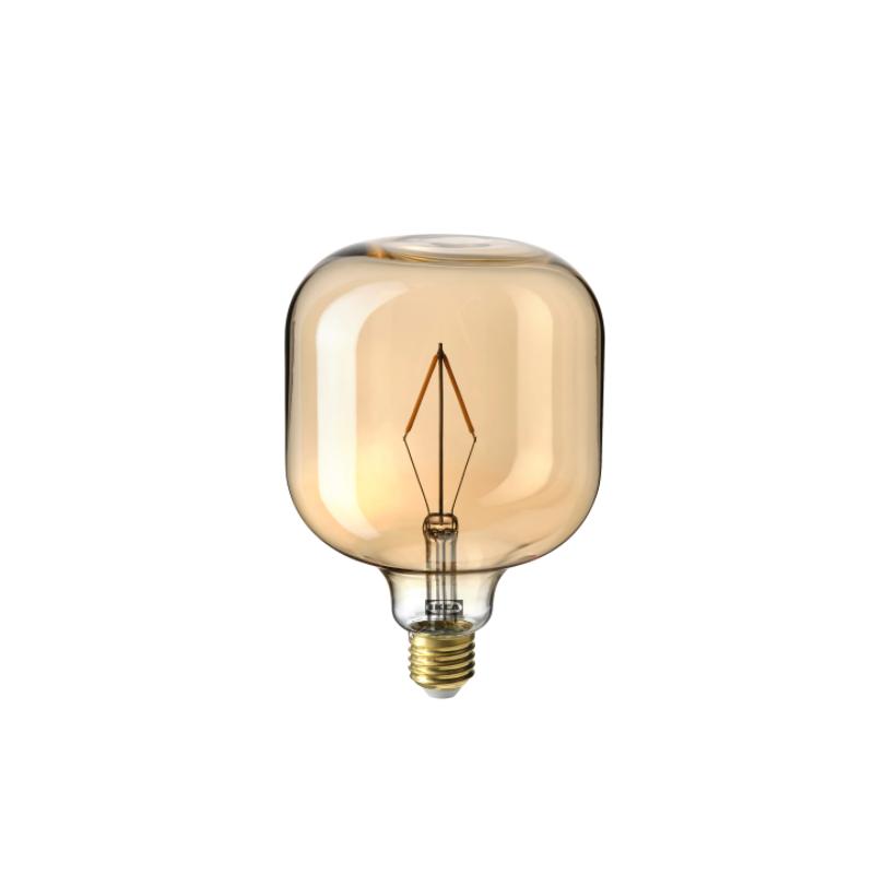 Bombillo LED píldora de 1watt con vidrio ámbar