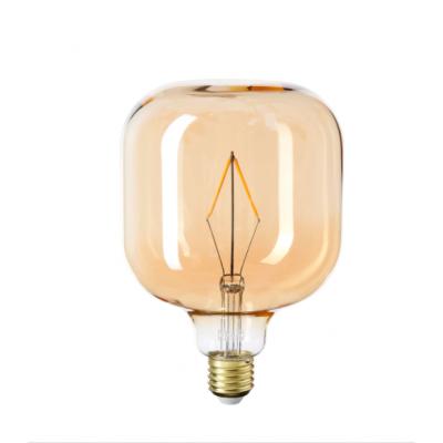 Bombillo LED píldora de 1watt con vidrio ámbar - LCO080