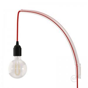Archet(To), soporte de pared transparente para lámparas colgantes