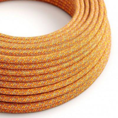Cable Eléctrico Redondo Recubierto en Algodón Indian Summer RX07
