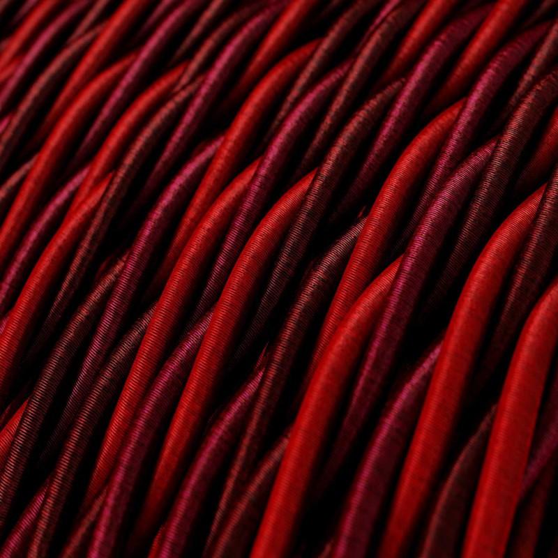 Cable Eléctrico Trenzado Recubierto en tejido Efecto Seda Asburgo TG05