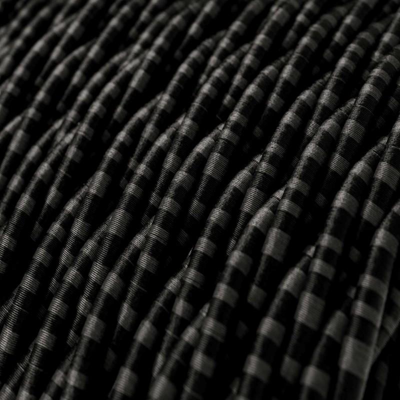 Cable Eléctrico Trenzado Recubierto en tejido Efecto Seda Romanov TG06
